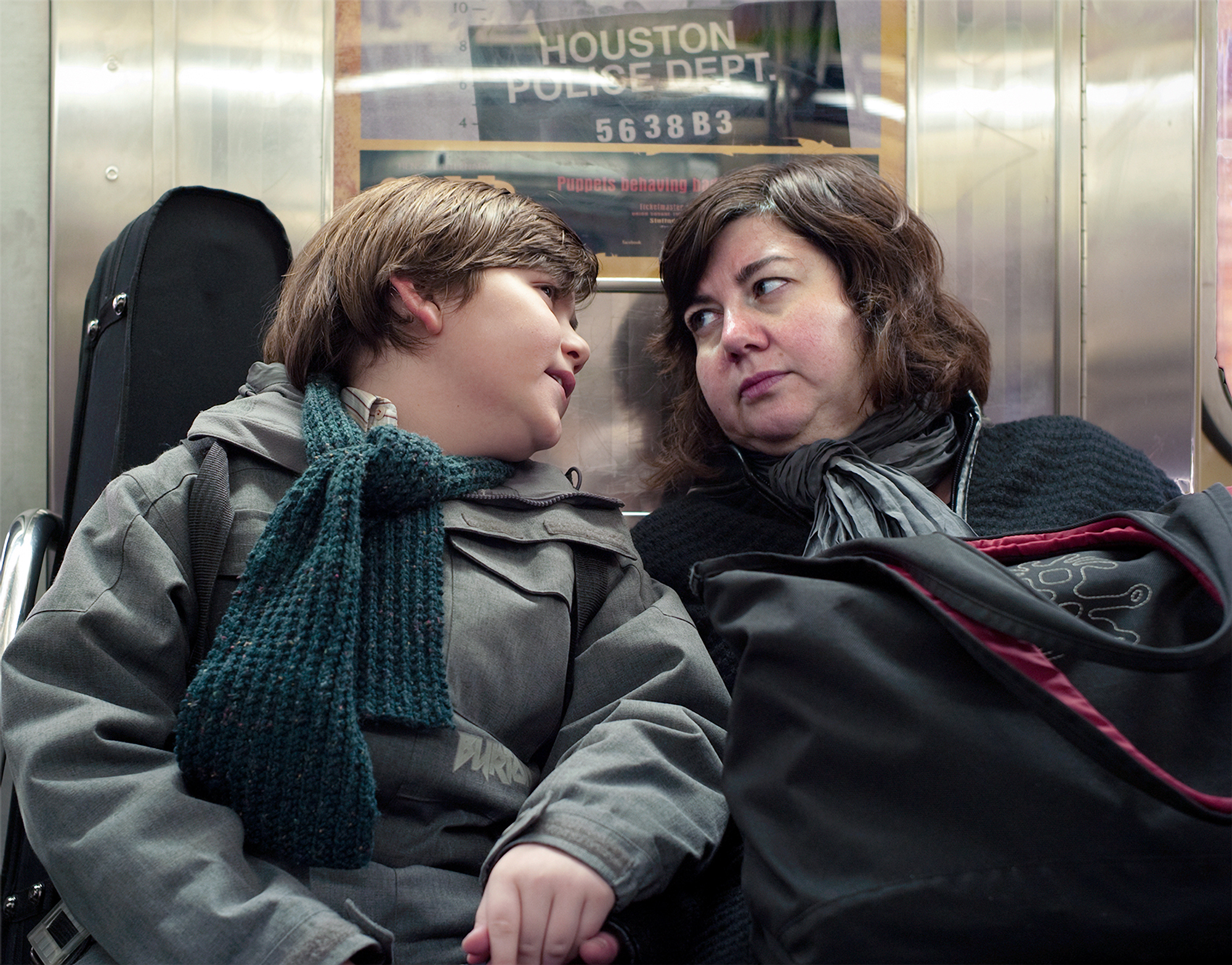 Mother And Child On The A Train, 2010