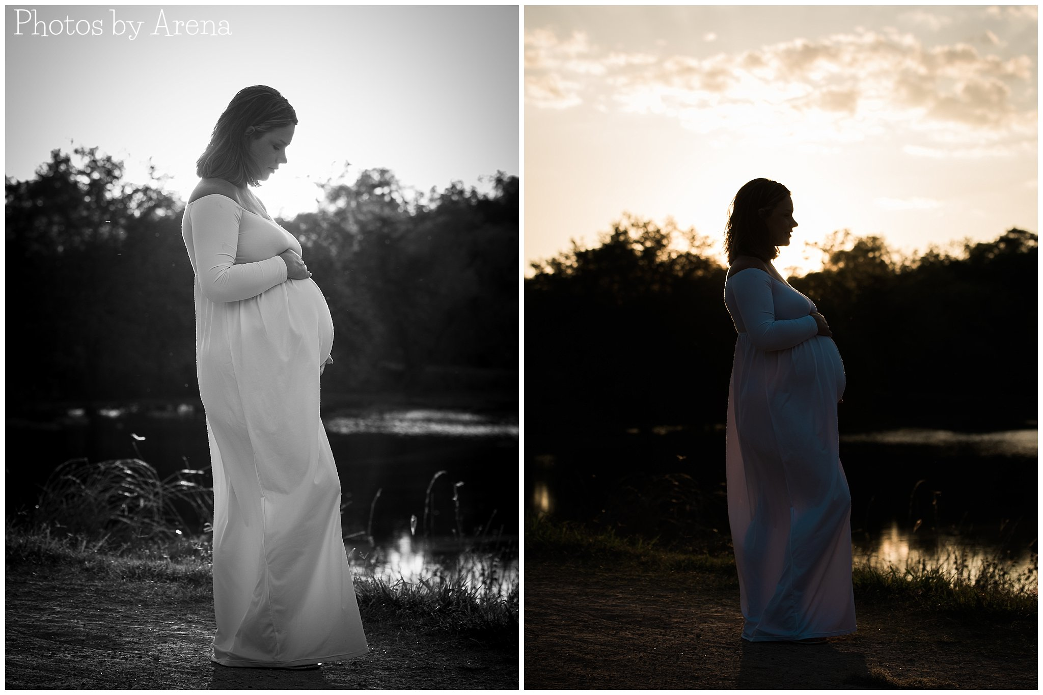 I couldn't decide if I like the black & white or color versions of these better.  Which do you like?  Leave a comment below and let me know!