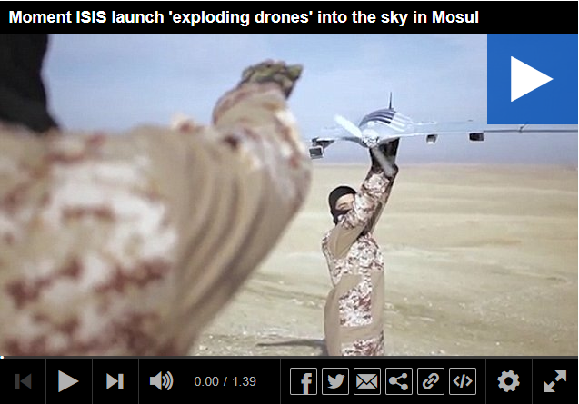 ISIS launch exploding drone into the sky in Mosul.png