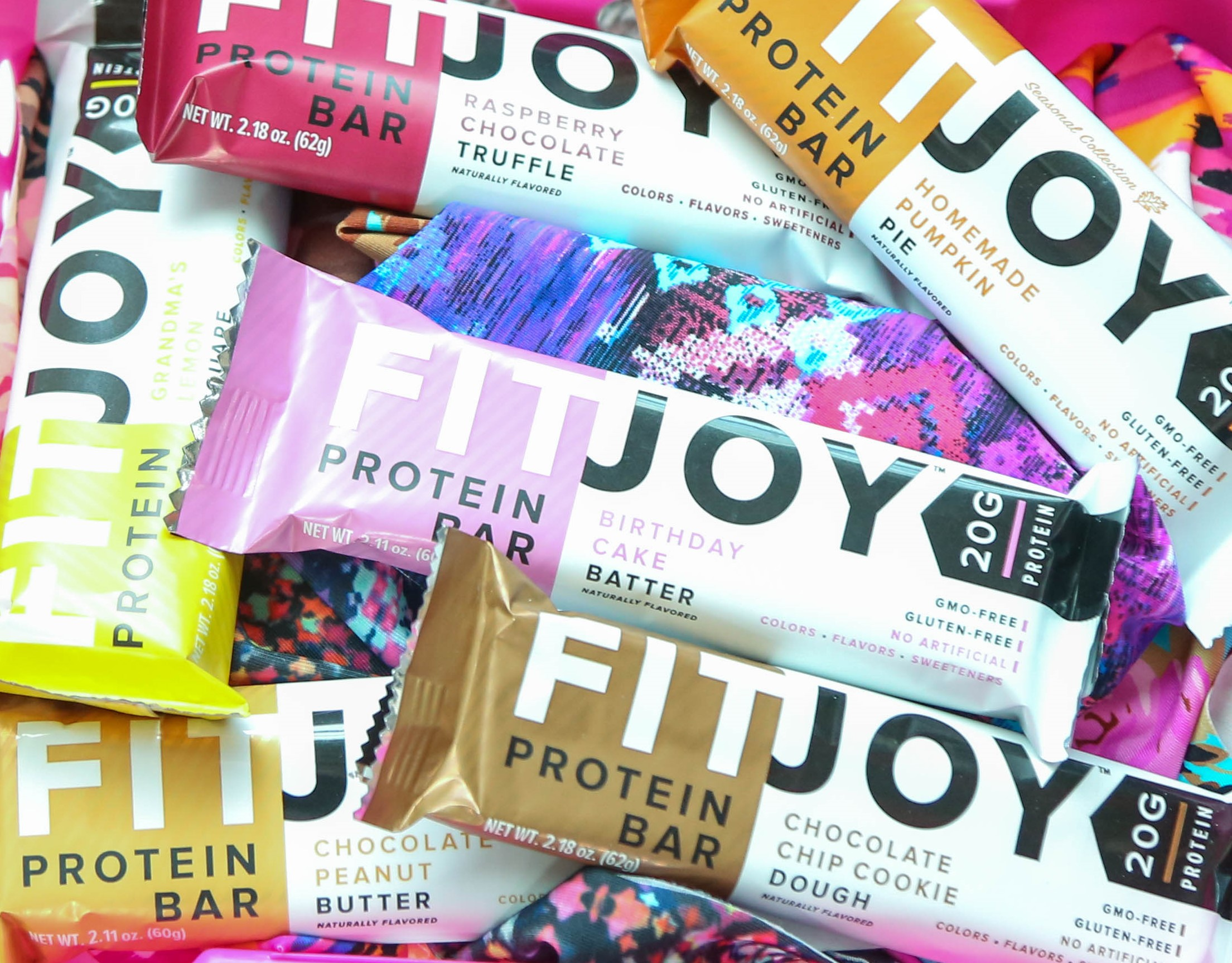 FitJoy gluten-free protein-packed bars can be a surprise delivery to the gym as a thank you for supporting your goals