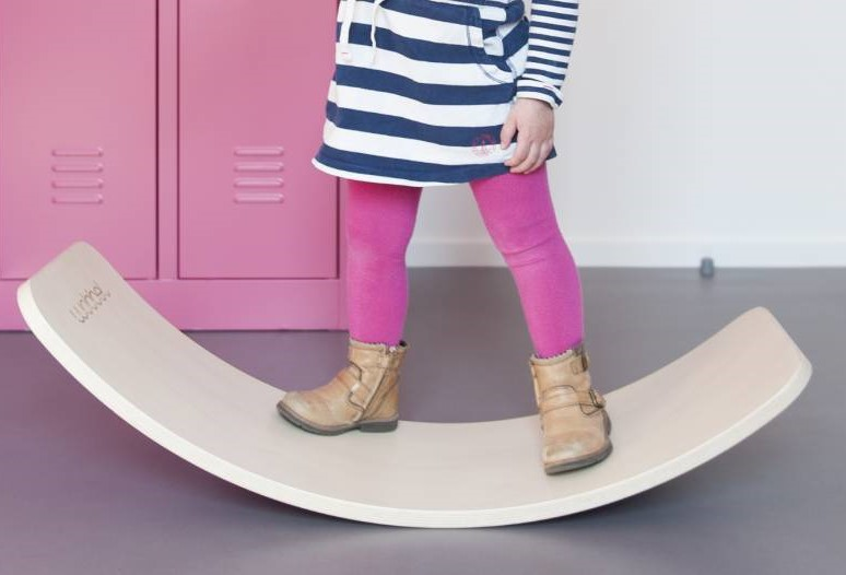 * Wooden Wagon  Wobble Boards keep kids active alongside you plus their stacking tunnels encourage creative play