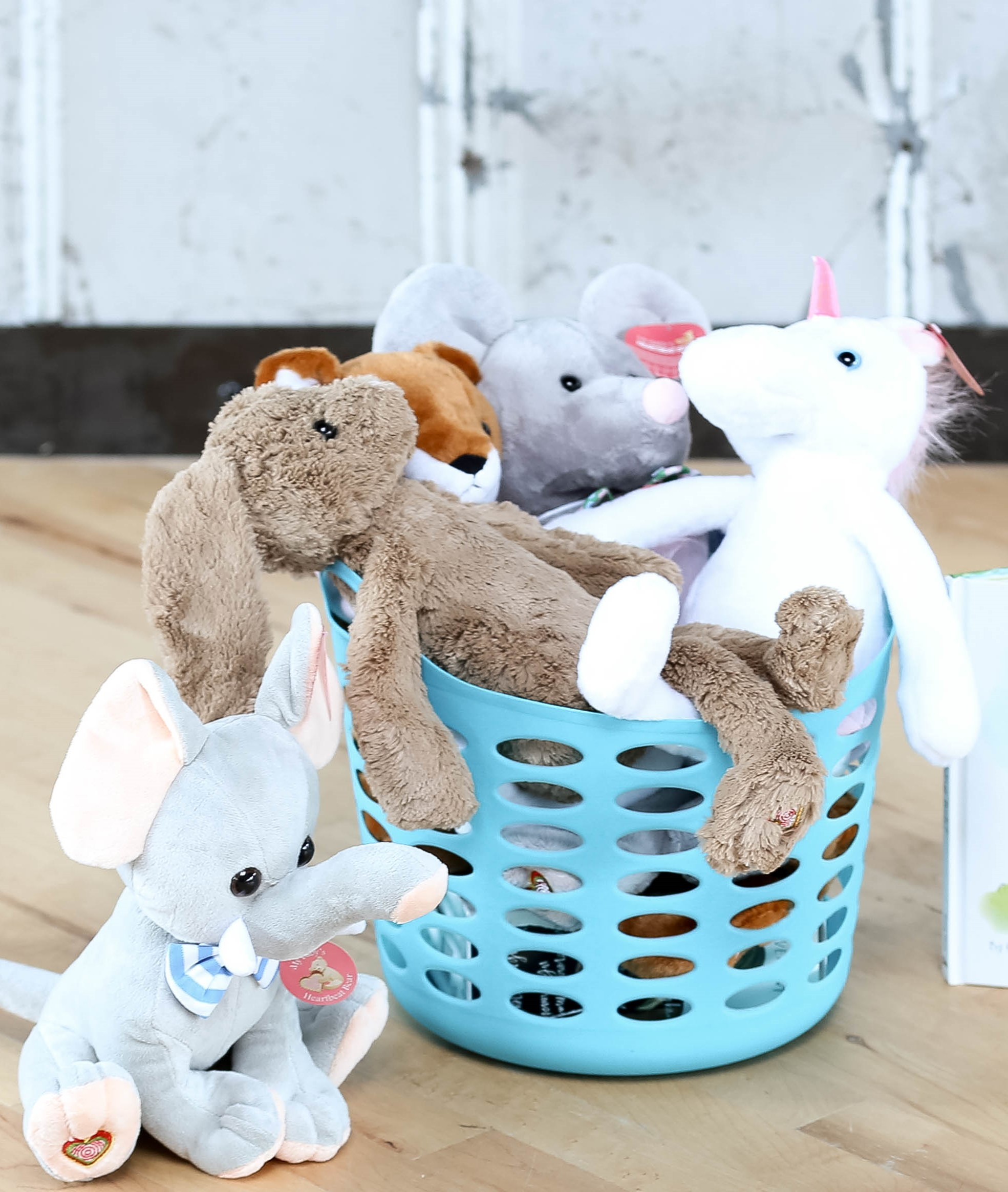 Heartbeat Bears  are snugly & soothing with the option to record your baby's ultrasound heartbeat  & tuck it inside
