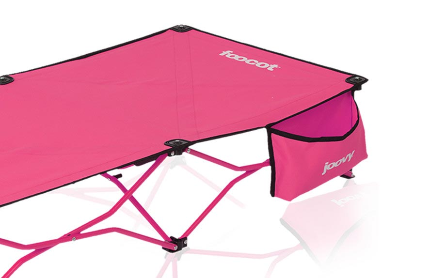 *  Joovy  Foocot Child Cot gets kids their own special space to recharge, read, daydream,or to play near your workout