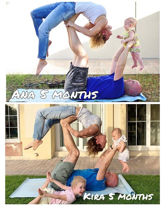 Parenting is a team sport! Keeping everyone on the same page of YOUR WHY behind staying active, eating healthy, getting outside, reading books, etc takes focus and effort. The reward is not instant- it can take years before your family really sees the positive side effects of your decisions. BUT DON'T GIVE UP! You deserve a long active life together! Wherever possible get your kiddos involved and let your older kiddos start to take the lead like @om_mywaytolotus shows with her family photo! It's a spectacular way to see how far you've all come together as a team!