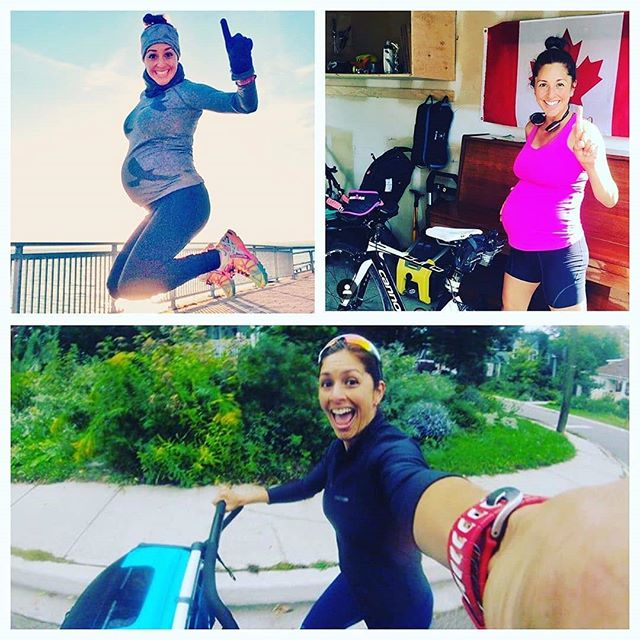 """Fitness during pregnancy and postpartum is a form of self care. It's a tool to ease your anxieties about parenting responsibilities, partner tensions, and major shifts in your identity. There will be times when your fitness goals will need to change along your journey so be prepared to shift your plans but DON'T FEAR CHANGE!  Keep this perspective from @ironmom.ca in mind """"While it's easy to focus on what you can't do, try to focus on what you CAN do - maybe it's an opportunity to try something new that's not even sports related (music, writing, knitting for baby, etc)😉. . Cycling helped me stay sane and fit, as did knitting and music.  And although I didn't run for more than 9 months, I've been back at it since the fall and am seeing paces on my watch that I ran back in university 🙏. . Be patient and trust in your journey."""""""