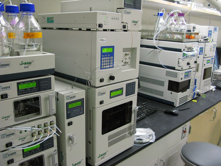 An SFC and UHPLC, capable of reducing analysis times up to 10 times compared to conventional HPLC.