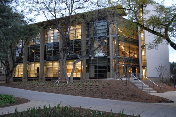 Our home as of April 2010, The Warren and Katherine Schlinger Laboratory for Chemistry and Chemical Engineering.