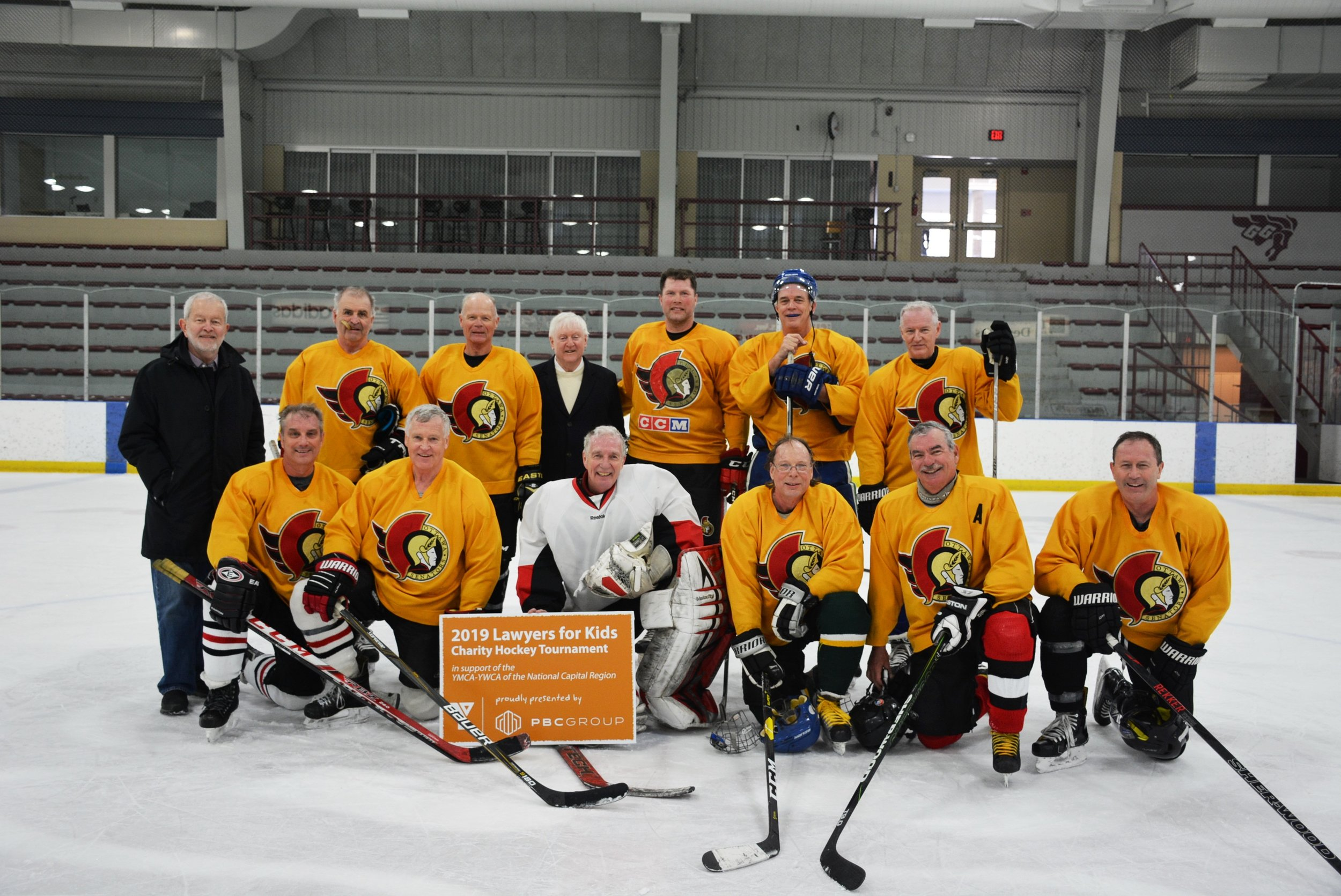 2019 Lawyers For Kids Charity Hockey Tournament Y Giving