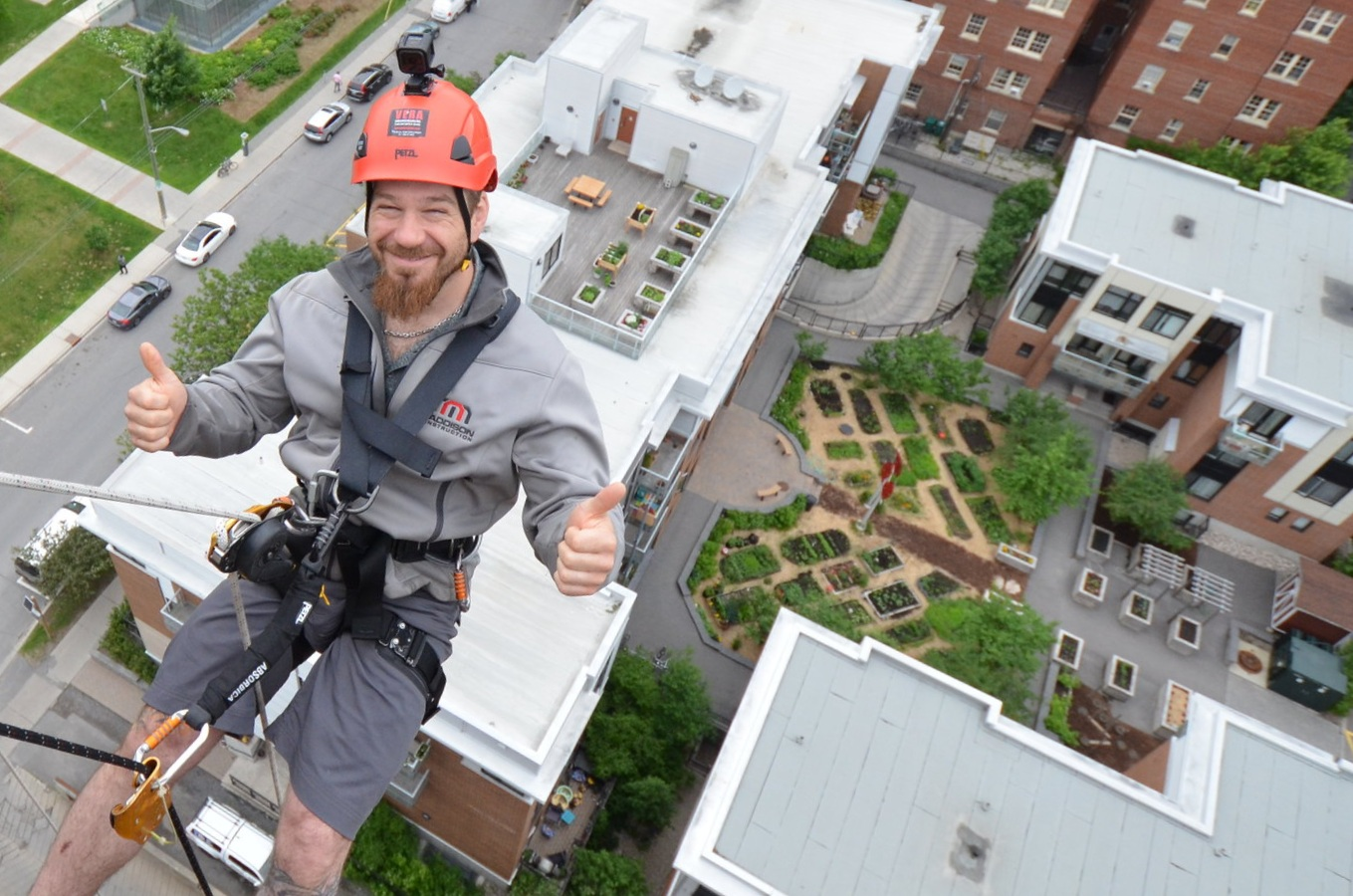 Y Events: YMCA-YWCA Cliffhanger - Take the leap and rappel 16 storeys! Don't miss your chance to see the city like never before while giving kids in our community the chance to experience camp like never before.