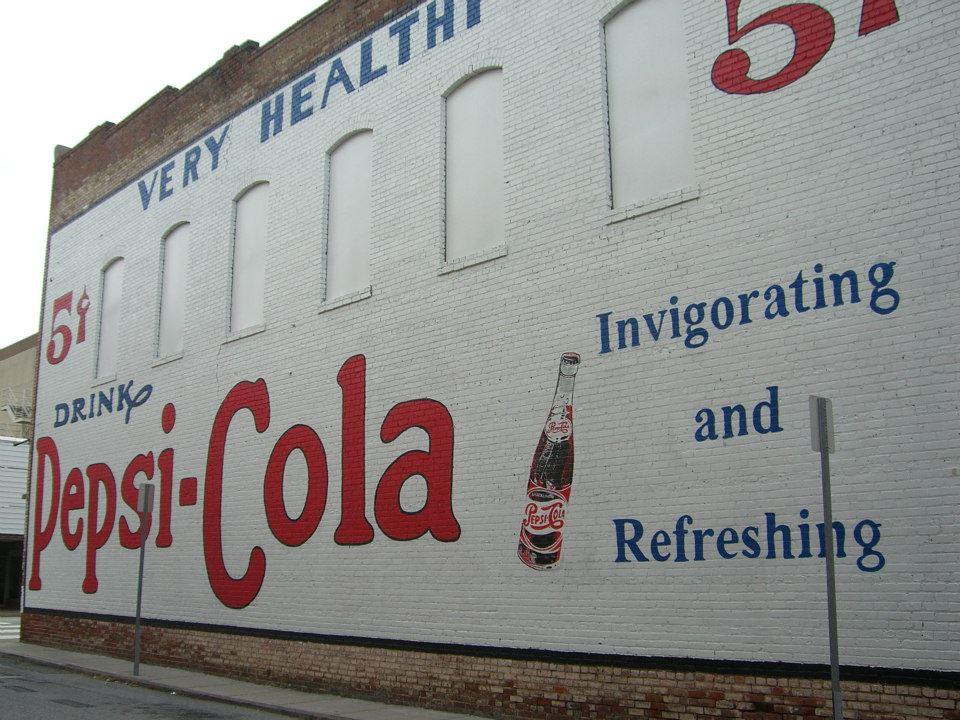 Pepsi - Cola * Mural Artist - Phil Christman
