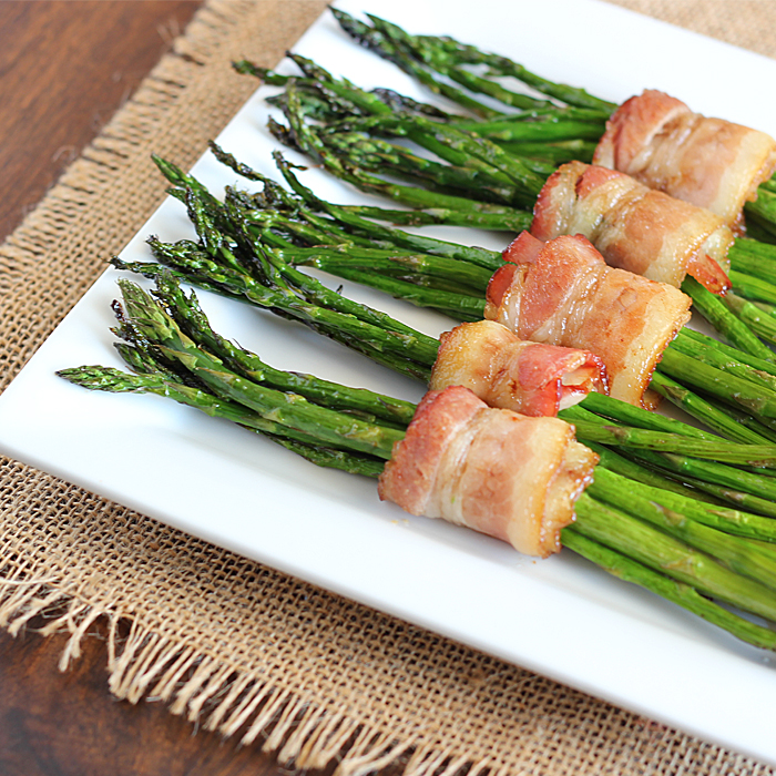 https://www.ourstate.com/bacon-asparagus/   Amy Brinkley lives in Morehead City and is the writer and photographer of the food blog,    The Blond Cook   . Amy's cooking style is influenced by her small town roots and love of Southern comfort food.    Credit ~   https://www.ourstate.com