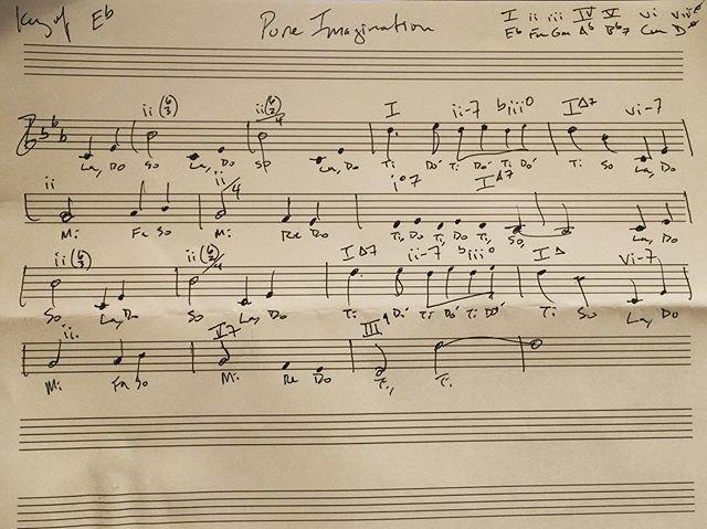 #PureImagination #solfege #JazzAnalysis 🎷what's a SnozHorn ?