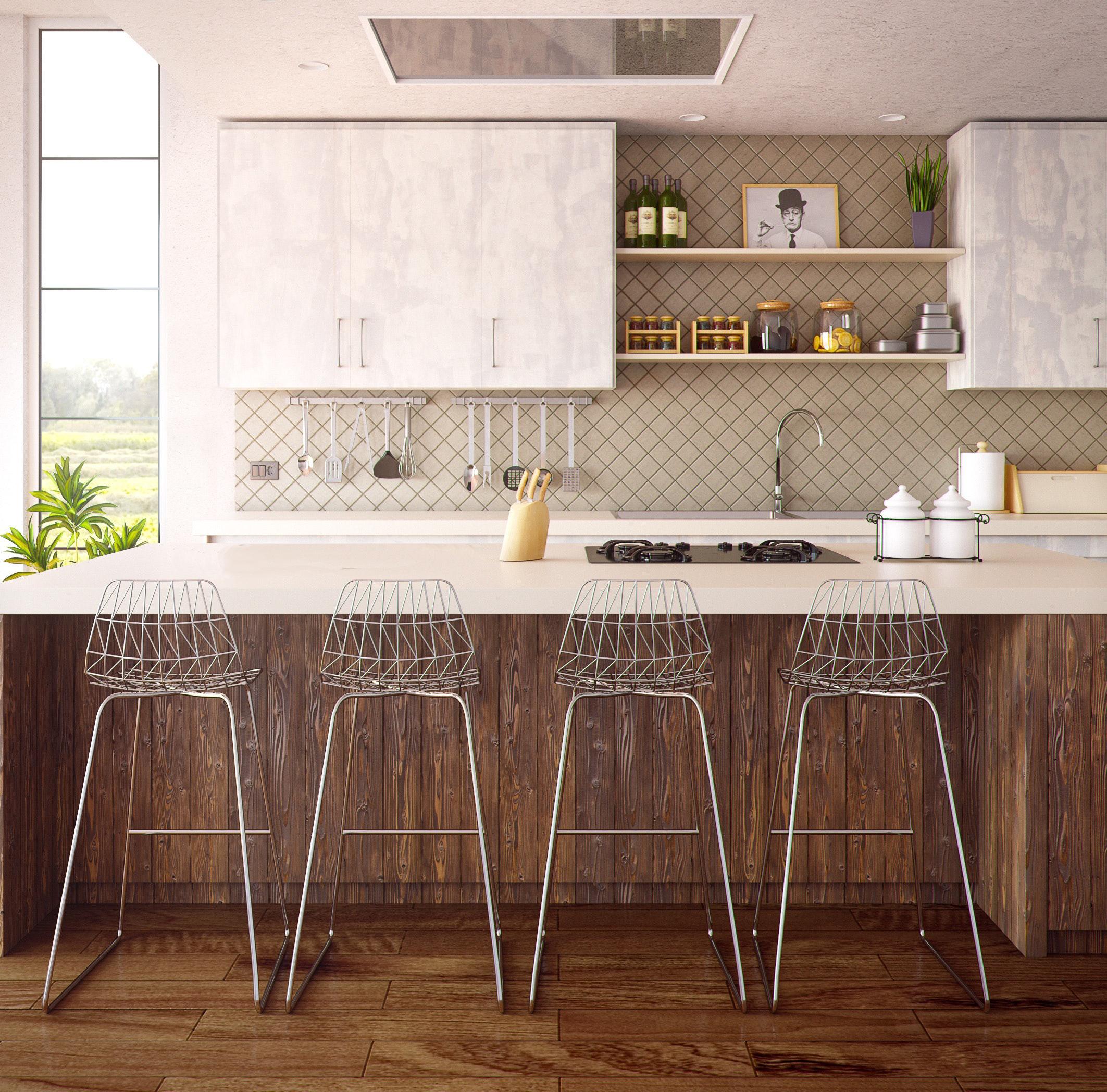 country kitchen distress wood island.jpg