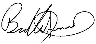 Bradley Sowash signature