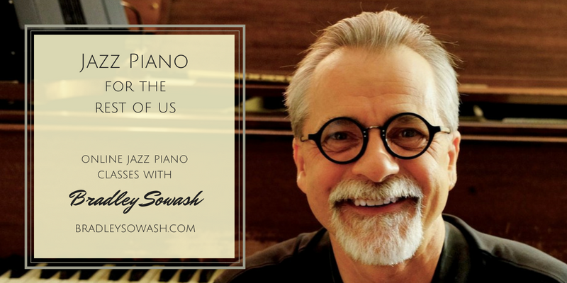 Learn jazz piano with others in real time group lessons.