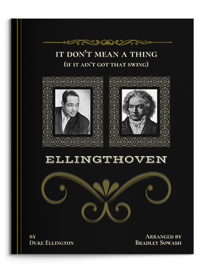 Ellingthoven (It Don't Mean a Thing if it Ain't Got That Swing) $9.95 - (External purchase link due to copyright restrictions)