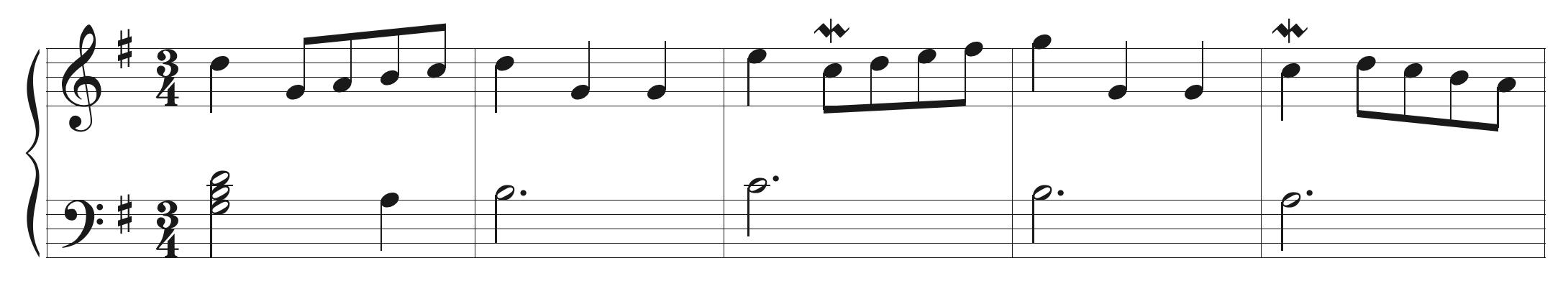 Bach Minuet