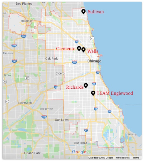Free Fare Pilot Program Map