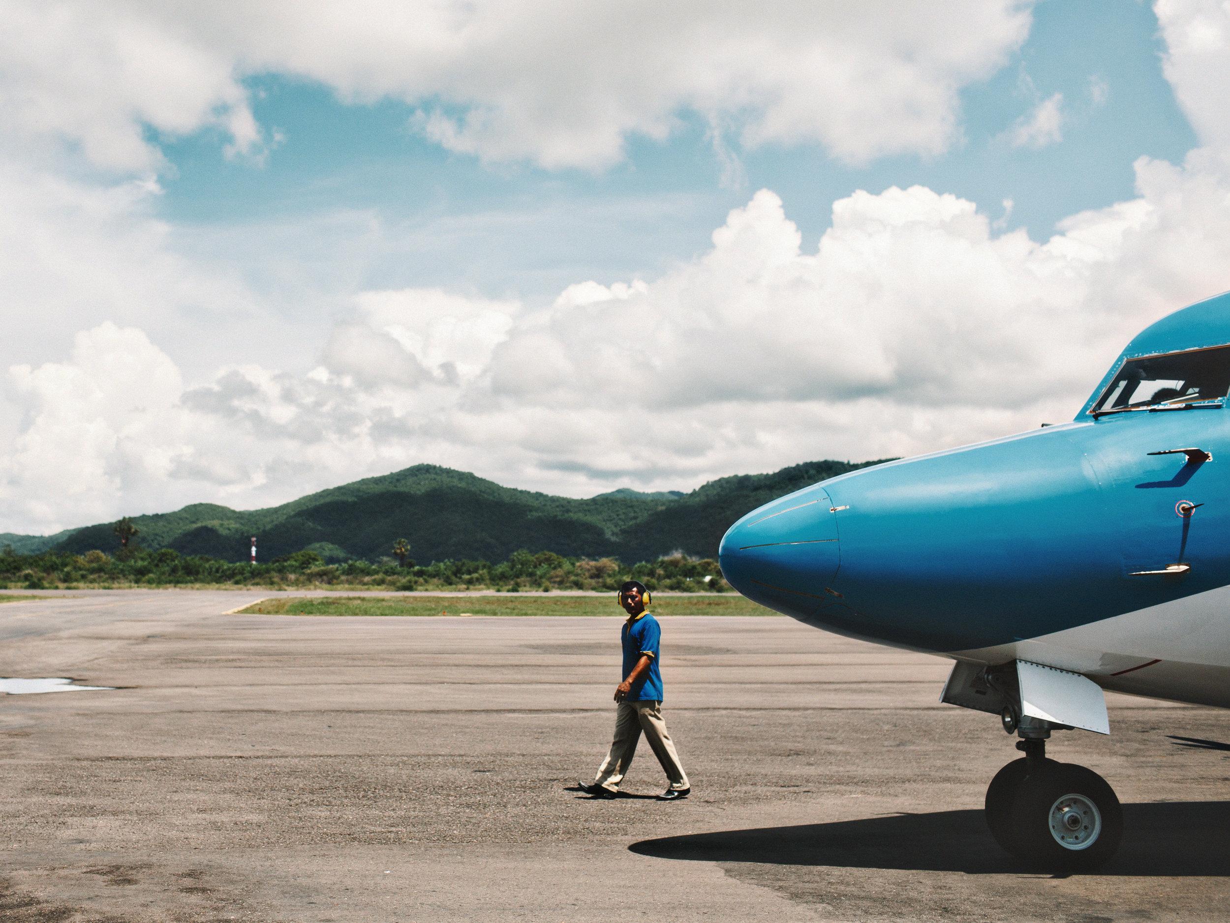 Flores Island Airport, Indonesia
