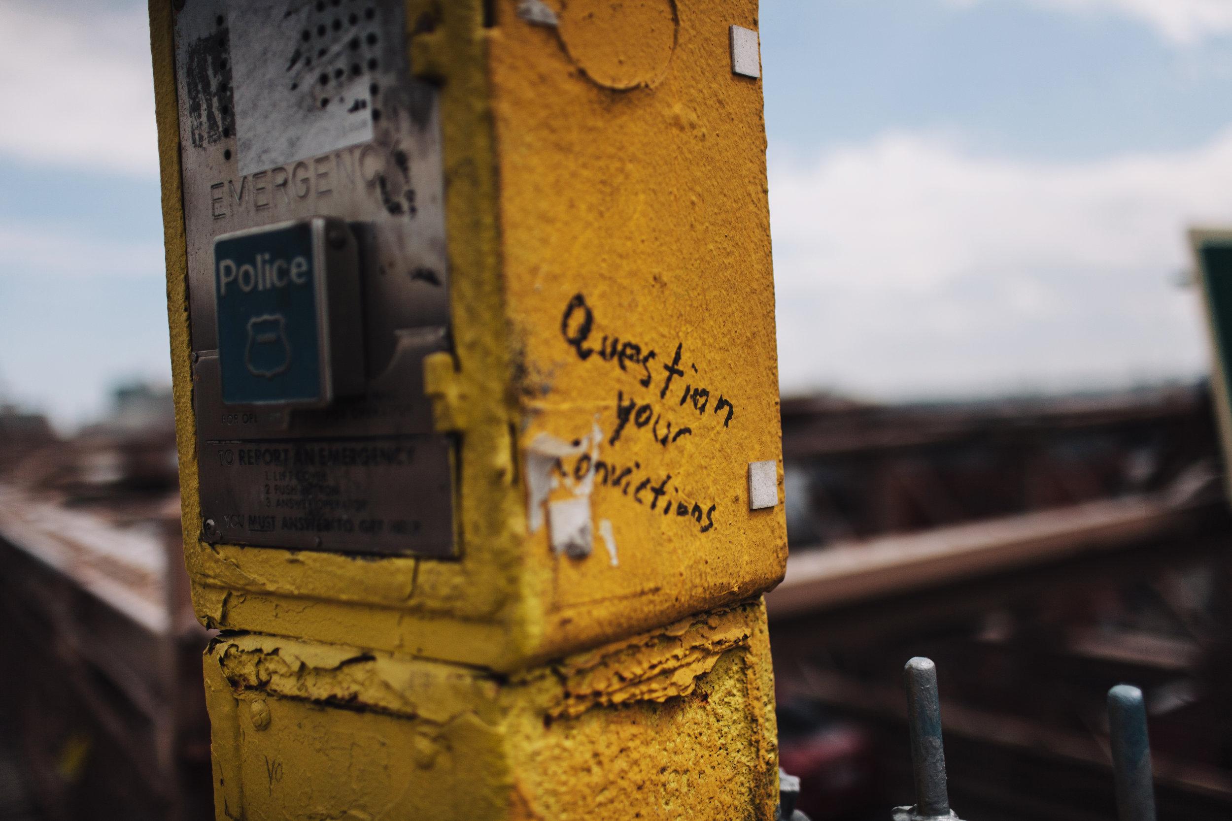 Street Thoughts, New York City, NY USA