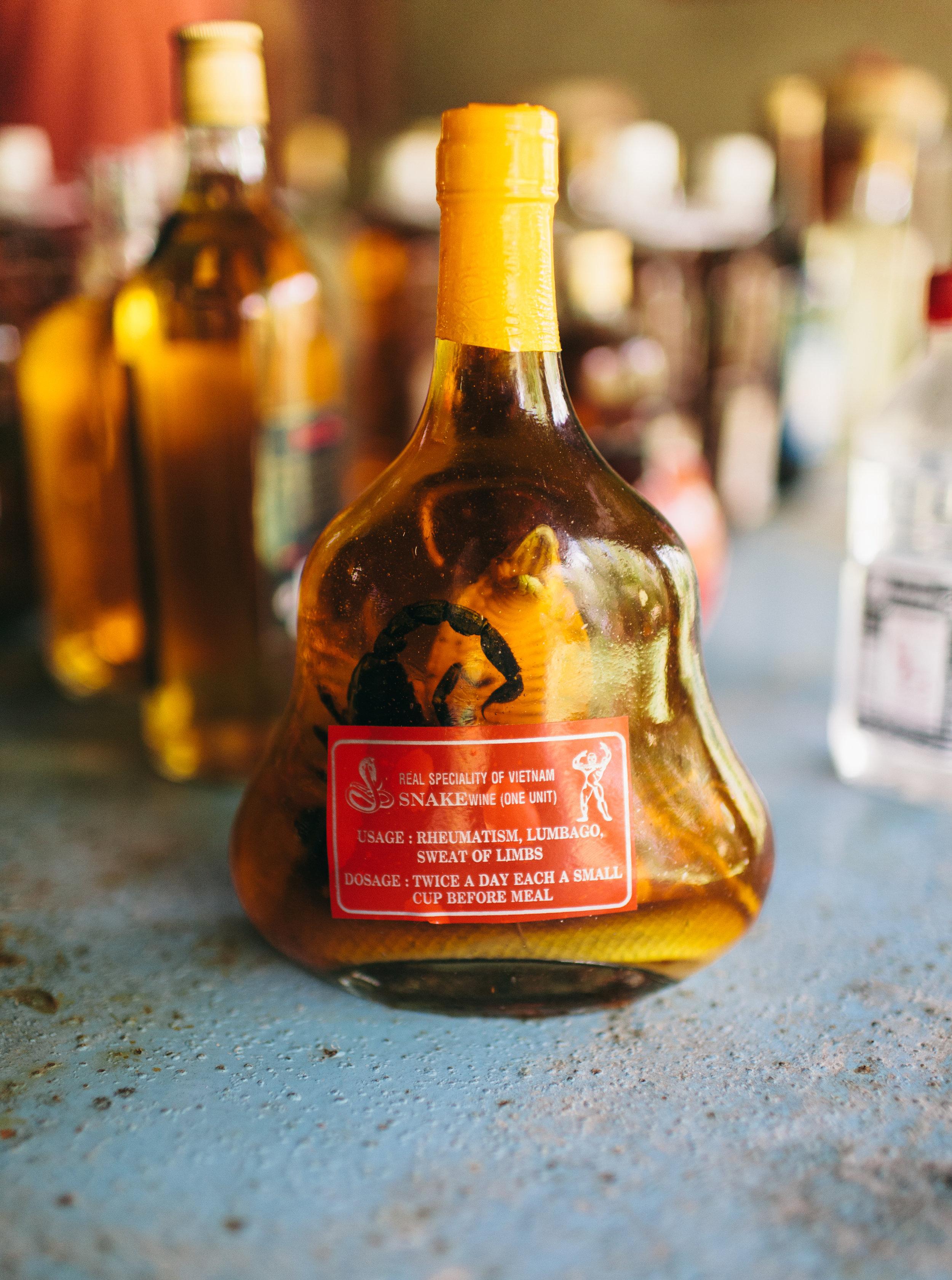 Snake Whiskey, Mekong Delta Vietnam
