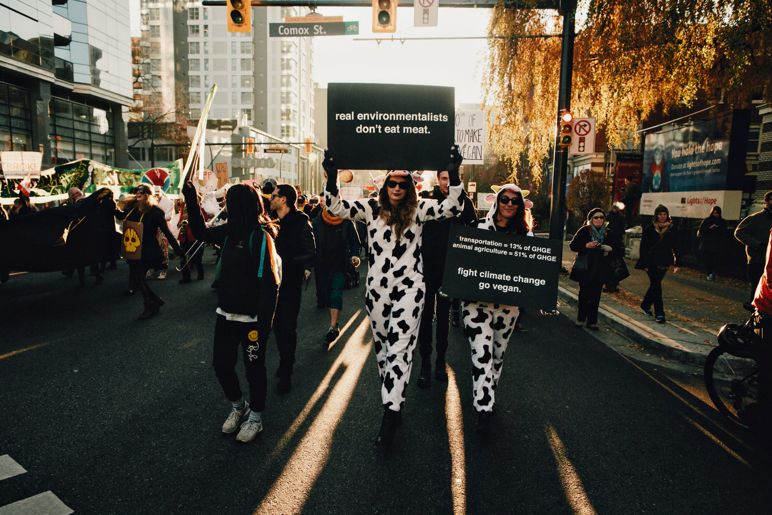 Vancouver Climate March