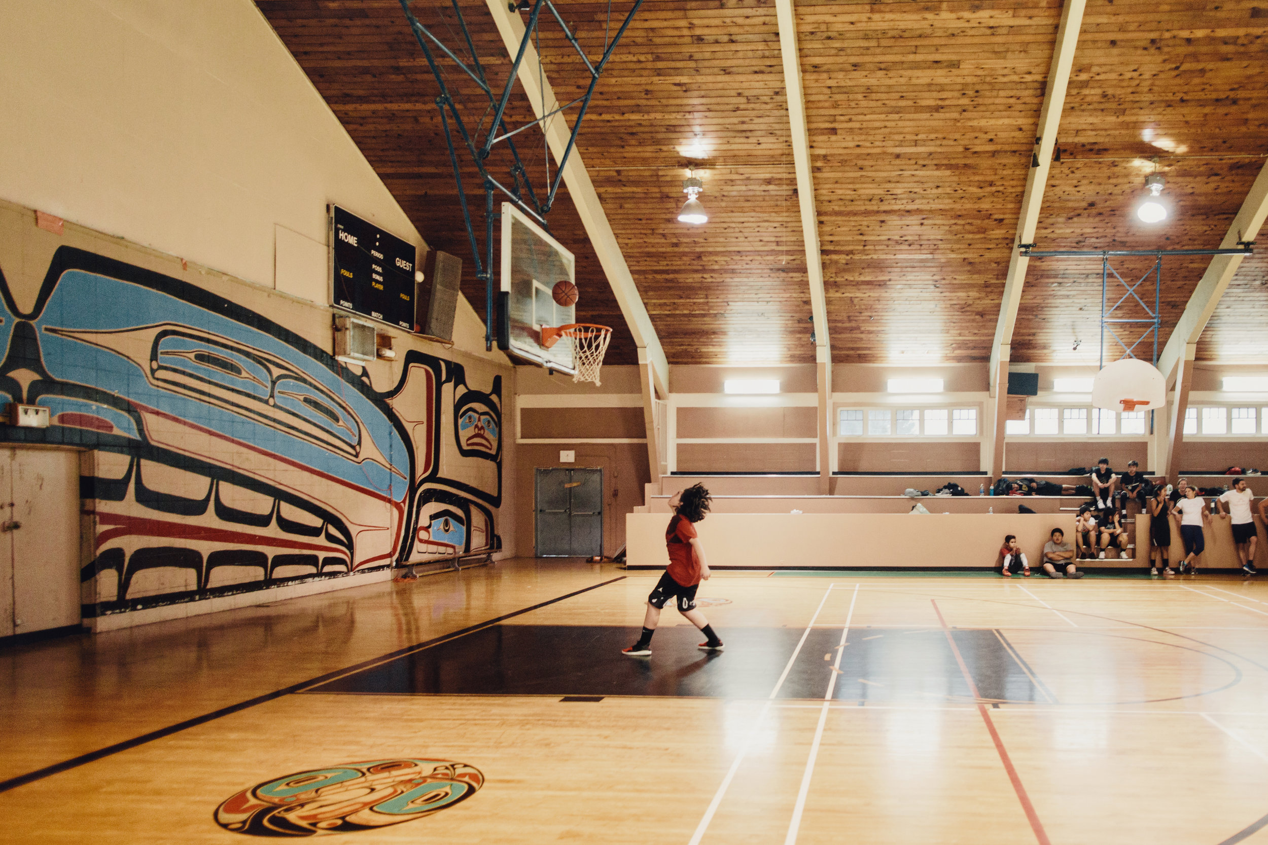 Basketball in Bella Bella