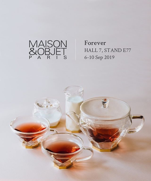 We are proud to debut our latest line of beautiful teaware, the Diamond Collection. Come visit Bishop House at Maison&Objet Paris. ⁣ •⁣ •⁣ •⁣ •⁣ •⁣ #maisonobjet #MO19 #maisonetobjet #maisonatobjet #maisonatobjet2019 #bishophouse #luxury #teaware #diamond⁣