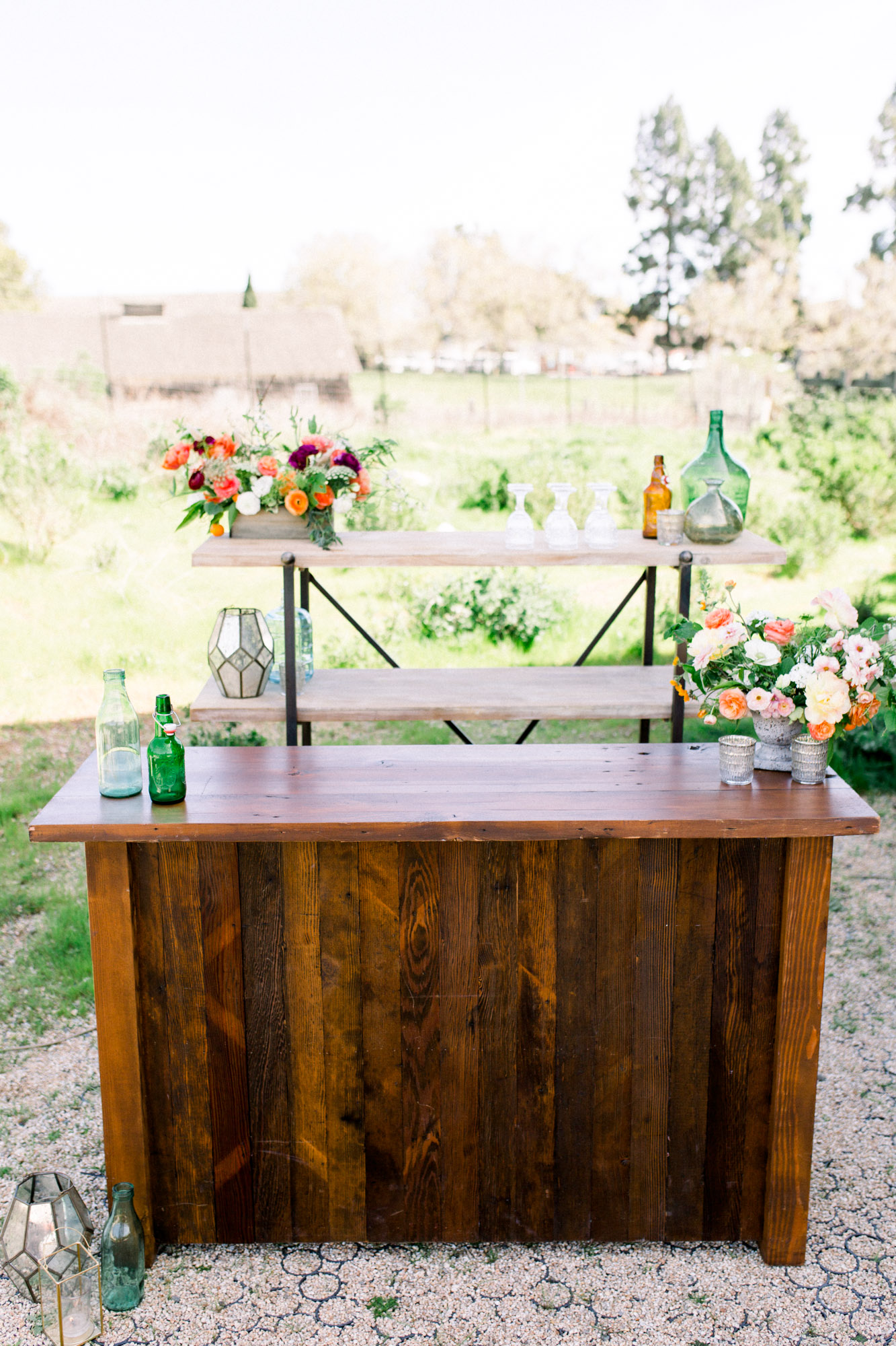 viewpointevents.com | Bars and Bar Carts for rent in California | Vintage Chic Rentals for weddings