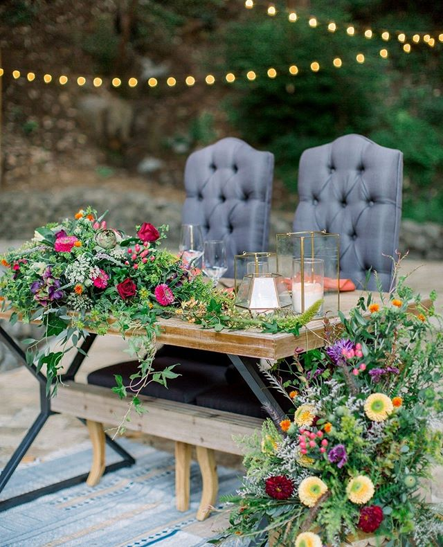 Dinner for two please....⁠!!! Our Santana Table is a mixture of rustic and modern but build perfectly for two 💕⁠ ⁠ ⁠ Venue: @waterfalllodge_santacruz⁠ Photography: @dejoyphotography⁠ Floral Design: @millstreetcateringevents⁠ Rentals: @viewpoint_events⁠ Tabletop Rentals: @alexispartyrental⁠ Bride/Groom Attire: @epiphanyboutique_carmel⁠ Makeup and Hair: @glamologybeautylounge⁠ Paper goods: @heartpapersoul⁠ Dessert: @scbuttercupcakes⁠ Bride and Groom: @mel.green13 and @chasenoland⁠ ⁠  #wedding #weddinginspiration #weddingdecor #weddinginspo #weddingideas #weddingdesign #weddings #weddingreception #love #vintagerentals #bride #weddingrentals #weddingday #vintage #weddingplanner #weddingplanning #ricketyswank #weddingdetails #brideandgroom #weddingflowers #outdoorwedding #sweetheart #weddingphotography #ido #thatsdarling #mrandmrs #vintagewedding #weddingstyle #theknot #weddingvenue