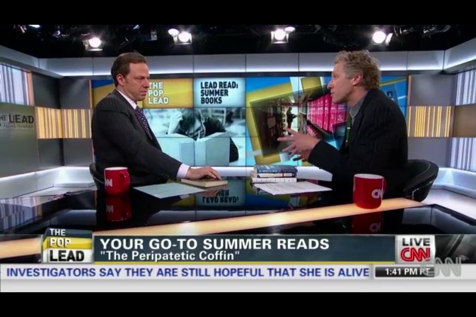 talking about books with Jake Tapper
