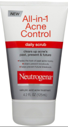 Scrub! (I use probably 3 times a week.) Otherwise, I will use a basic daily cleanser.