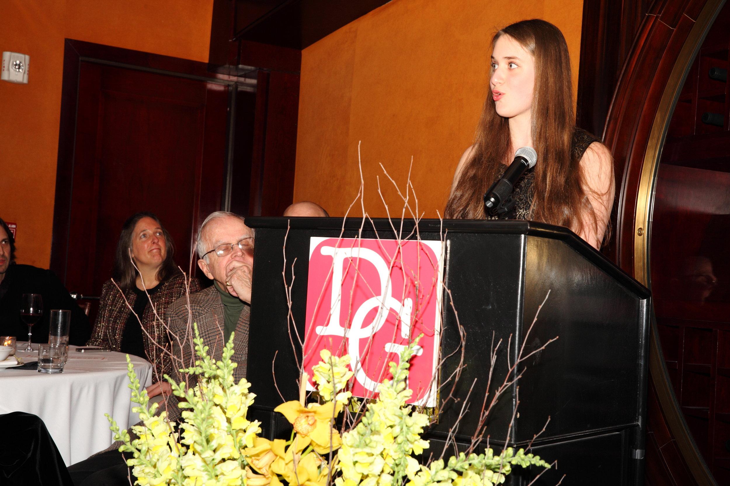 2014 Defender award winner Larissa Marks