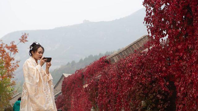 Gubei in the autumn.  #travelchina #traveltheworld #backpacking #wanderlust #theglobeisbeautiful #travelphoto #travelphotography #travelblogger #landscapephotography #canon #canon5diii #canonphotography #natgeo #nationalgeographic  #photooftheday #travelasia #asia #chinatravel #instachina #instatraveling #instatravel #tiananmen #travelbeijing #qianmen #drumtower #gubeiwatertown #gubei