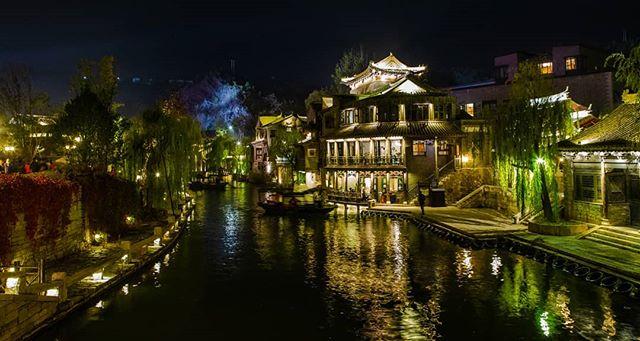 Gubei in the autumn. . . . . . . . . . . . . #travelchina #traveltheworld #backpacking #wanderlust #theglobeisbeautiful #travelphoto #travelphotography #travelblogger #landscapephotography #canon #canon5diii #canonphotography #natgeo #nationalgeographic  #photooftheday #travelasia #chinatravel #instachina #instatraveling #instatravel #travelbeijing #gubei #gubeiwatertown #beautifuldestination #autumnvibes🍁  #autumncolors🍁  #getoutstayout  #earthfocus