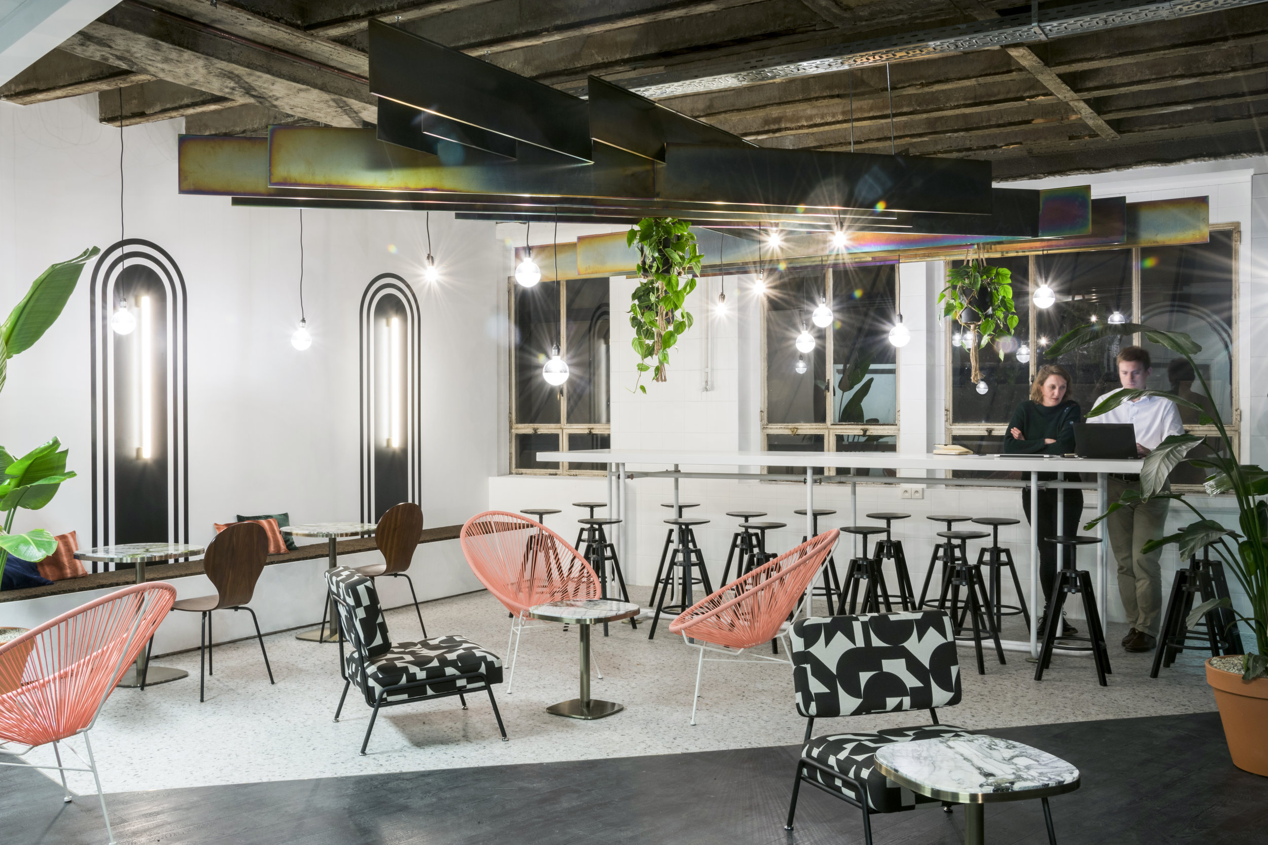 BE CENTRAL  - Chill Room - Renovation of 200sqm of offices in the Central Station Brussels