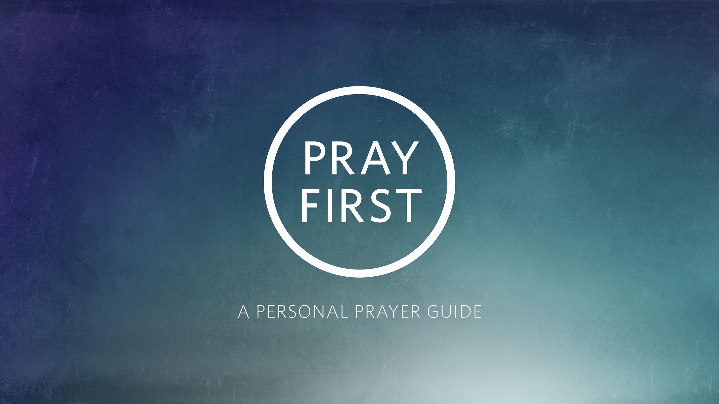 DOWNLOAD PDF PRAYER GUIDE HERE