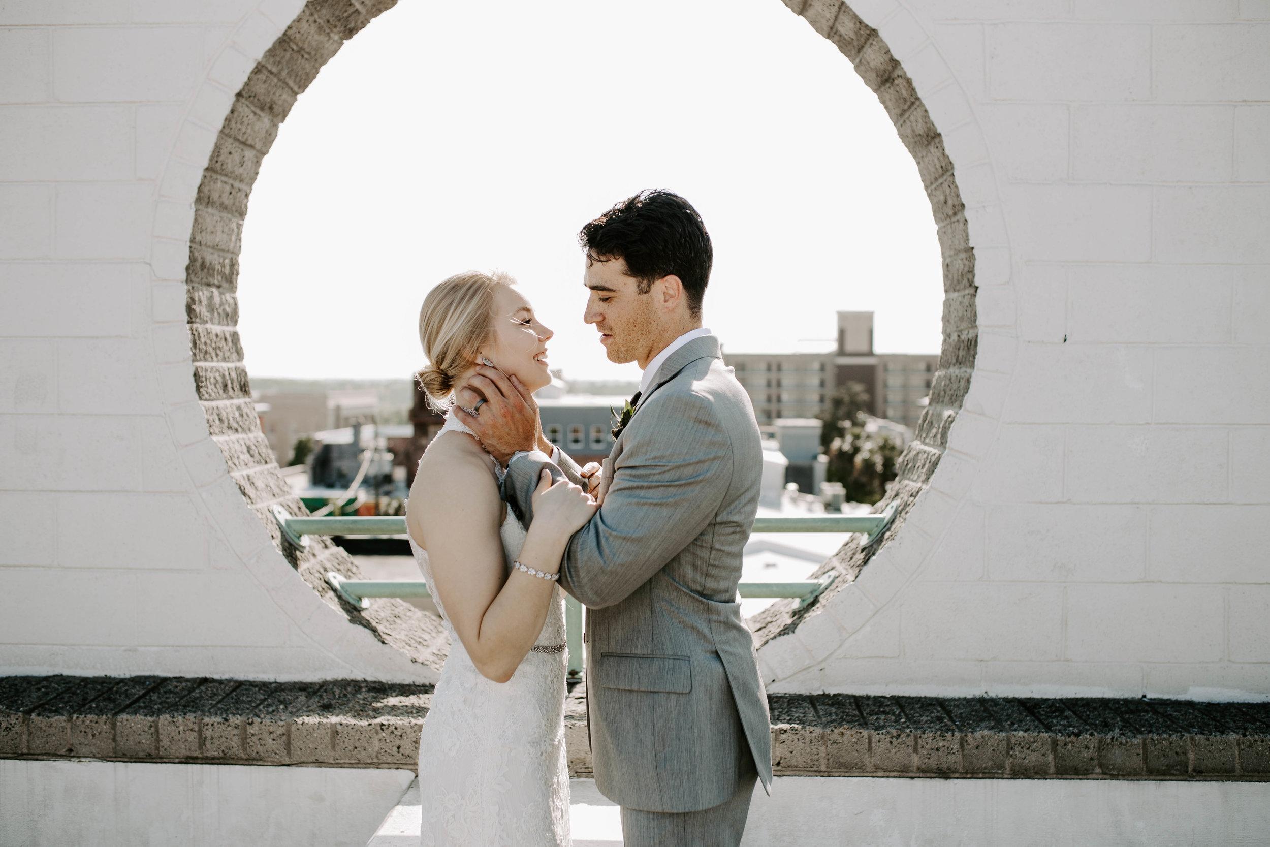 de Serres Wedding - wilmington, NC