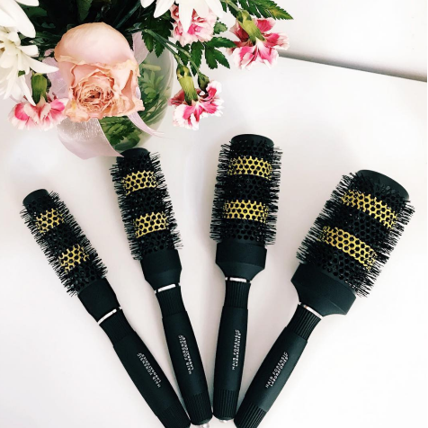 hair forensics styling tools at intemperance salon