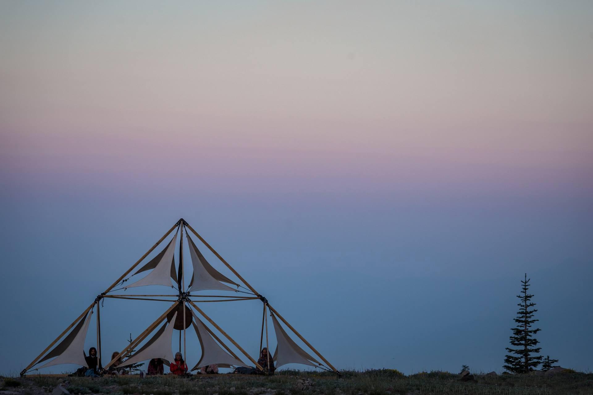 sunrise at Mount Shasta, CA