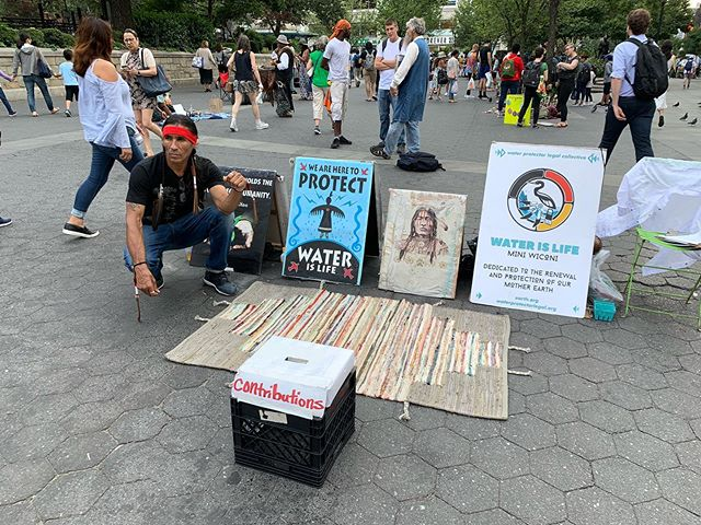 If you are curious how you can help with the fires and other environmental issues facing our planet go check in with Eagle Sun.  He is in union square most days speaking truth for our world.  Join him in prayer and action.
