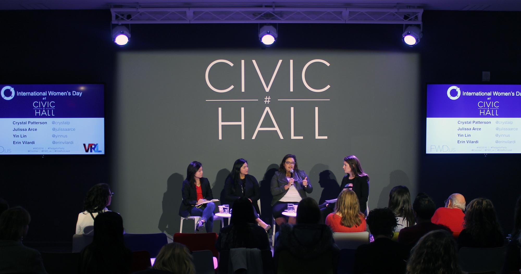 INTERNATIONAL WOMEN'S DAY CELEBRATION AT CIVIC HALL: Women, Entrepreneurship, and Politics