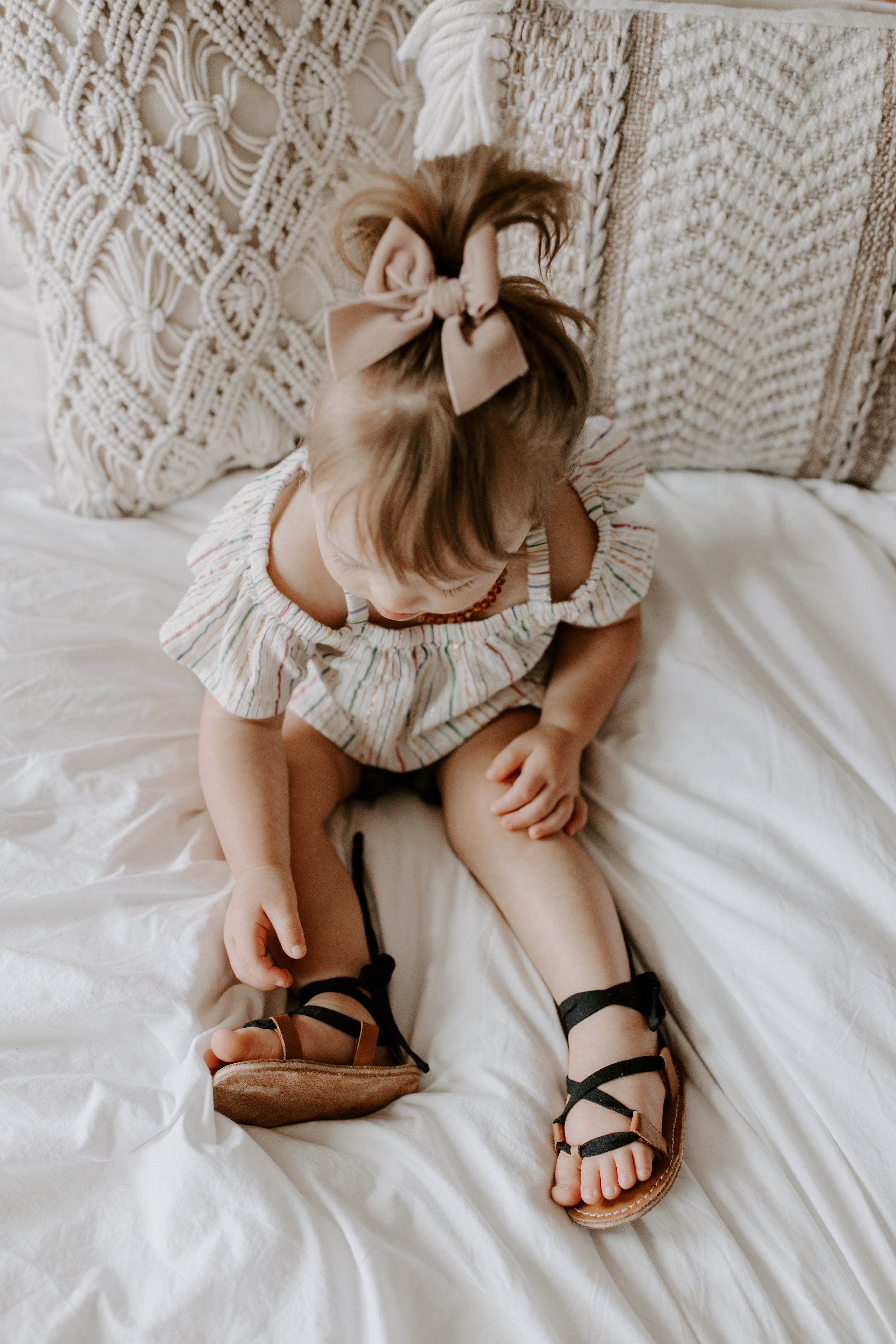 Back to the Product - Adaline's lace up sandals were a big hit and I still get messages about them. So if you're wanting to custom make your own babe sandals or just spoil your self then this is for you!.
