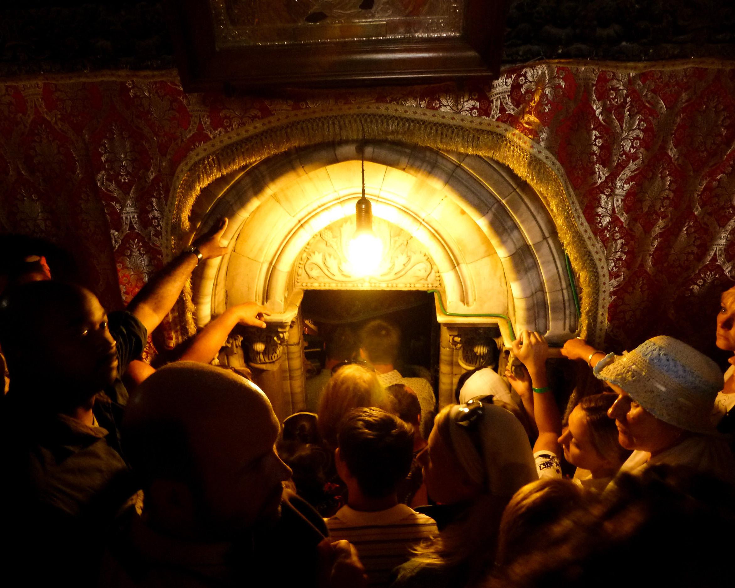 Photo:   Katie Archibald-Woodward :  Awaiting The Messiah (Church of the Nativity, Bethlehem, West Bank, Palestine. 2011)