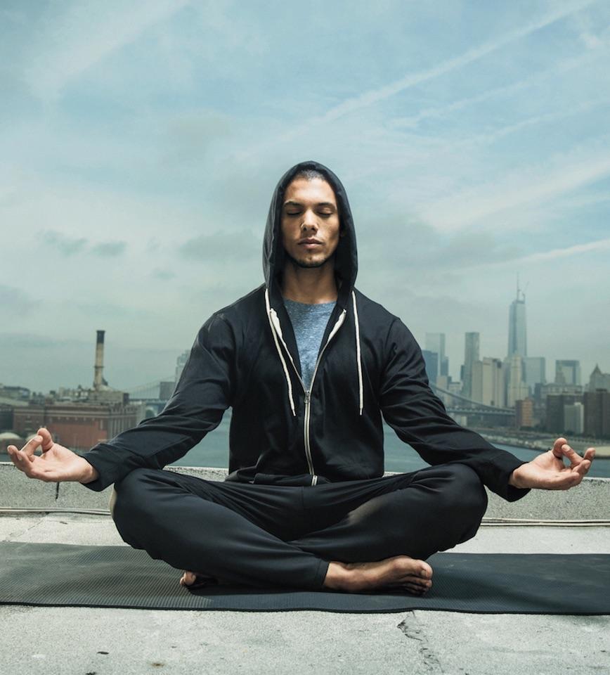 Meditating Runner