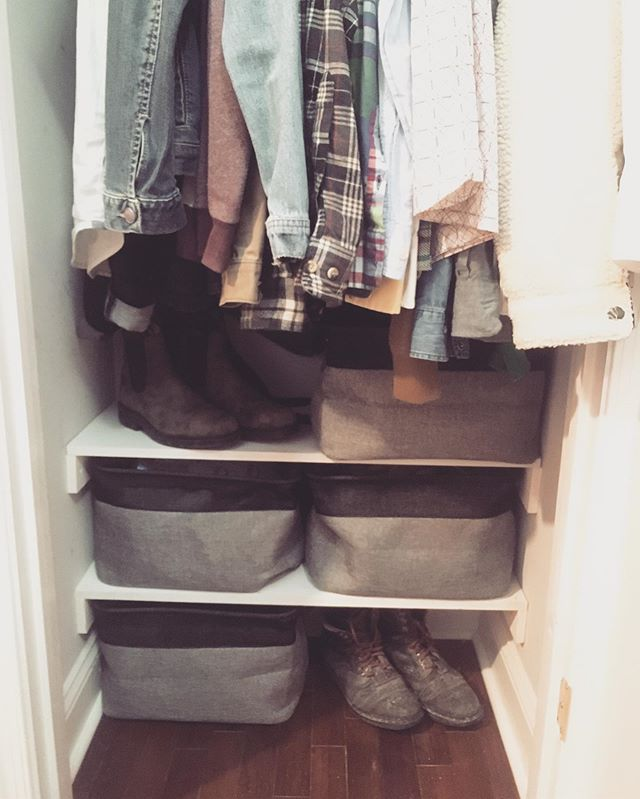 #closet #shelf #exhibit B