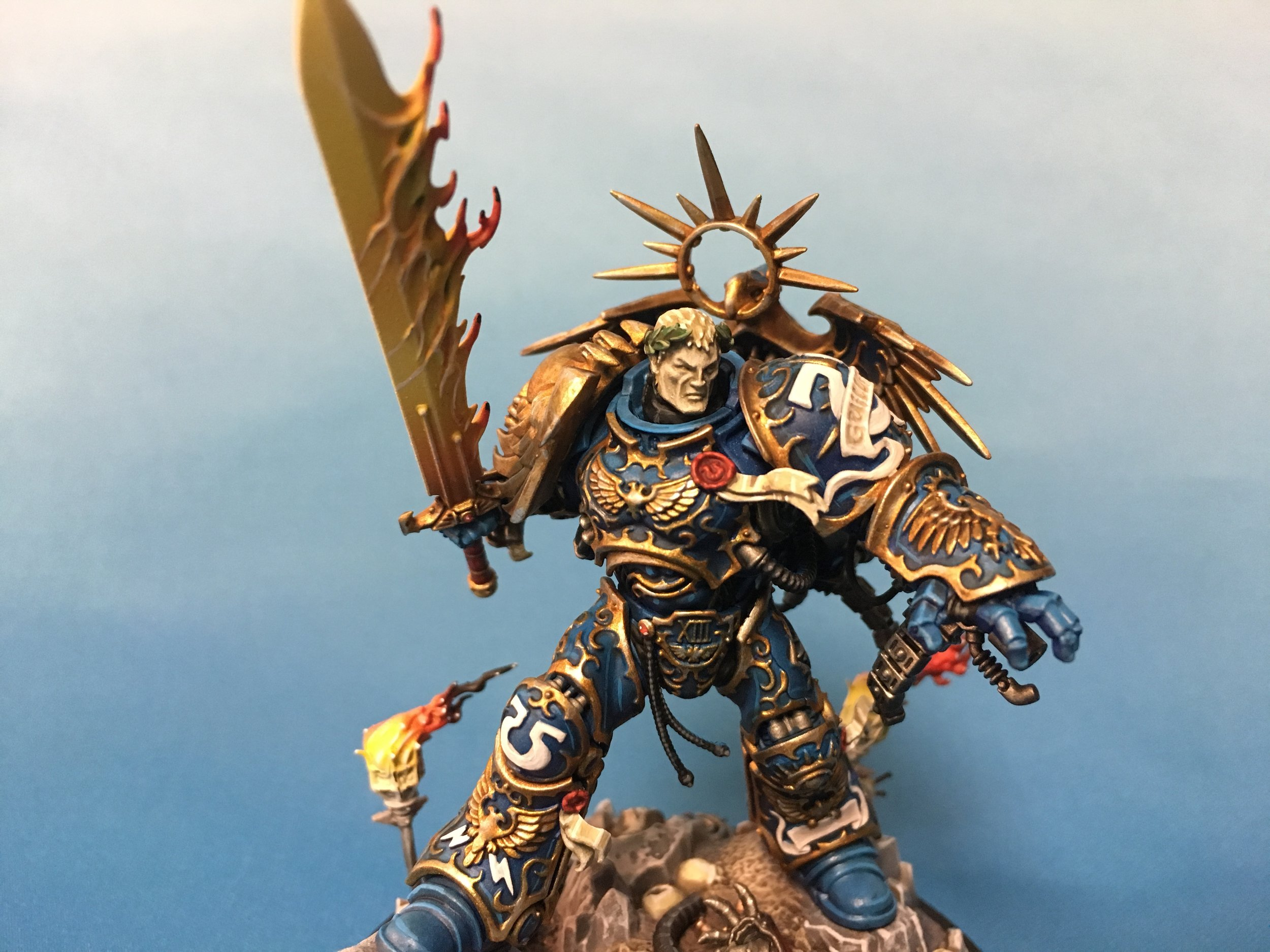 Table top plus Guilliman with both head options