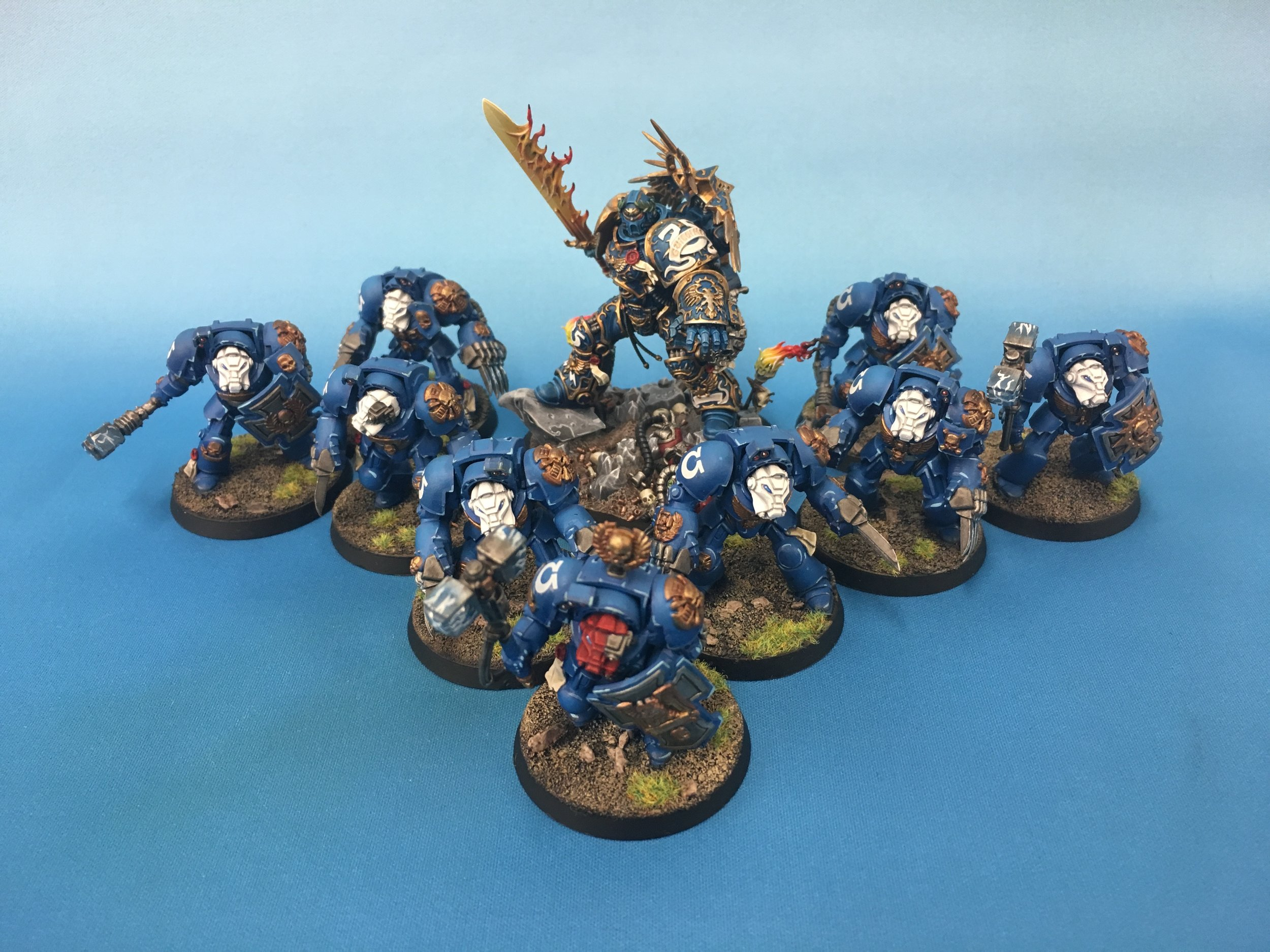 Another TT+ Guilliman with Table Top Standard Terminators