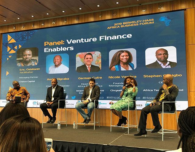 Introducing our Venture Finance Enabler panel! #HaasABF #AfricaOnTheMove