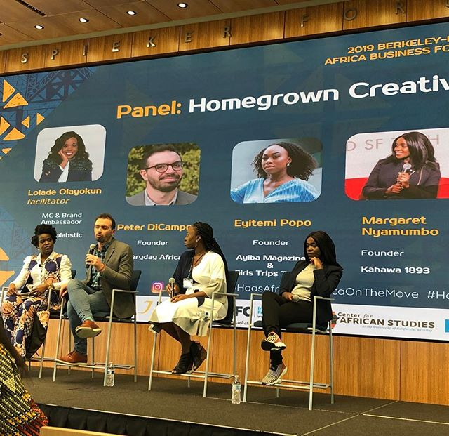 Introducing our super amazing #HomegrownCreative panel! #AfricaOnTheMove #HaasABF